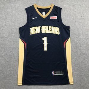 NBA NIKE Orleans Pelicans Zion Williamson Jersey 1